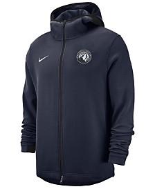 Nike Men's Minnesota Timberwolves Dry Showtime Full-Zip Hoodie