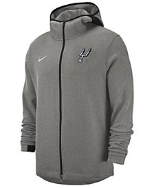 Nike Men's San Antonio Spurs Dry Showtime Full-Zip Hoodie