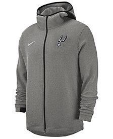 Nike Men's San Antonio Spurs Dry Showtime Full-Zip Hoodie