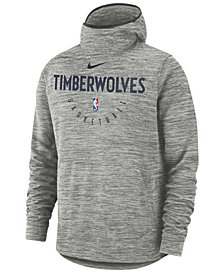 Nike Men's Minnesota Timberwolves Spotlight Pullover Hoodie