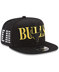 New Era Chicago Bulls 90s Throwback Roadie 9FIFTY Snapback Cap