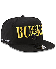 New Era Milwaukee Bucks 90s Throwback Roadie 9FIFTY Snapback Cap