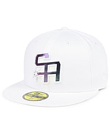 New Era San Antonio Spurs Iridescent Combo 59FIFTY FITTED Cap