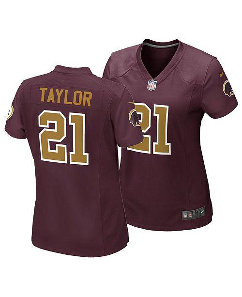 sale retailer 336f3 a638a Women's Sean Taylor Washington Redskins Game Jersey