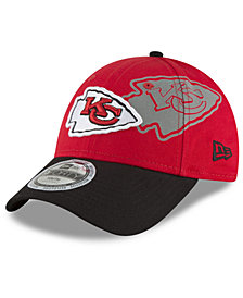 New Era Boys' Kansas City Chiefs Side Flect 9FORTY Cap
