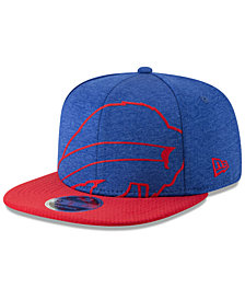 New Era Buffalo Bills Oversized Laser Cut 9FIFTY Snapback Cap