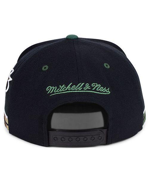 5af9ec4d01a Mitchell   Ness Philadelphia 76ers Straight Fire Camo Hook Snapback Cap ...