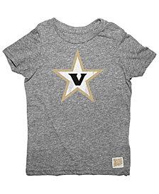 Retro Brand Vanderbilt Commodores Tri-Blend T-Shirt, Toddler Boys (2T-4T)