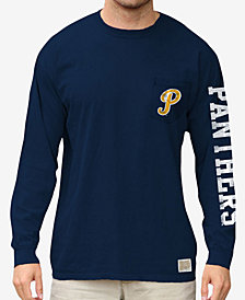 Retro Brand Men's Pittsburgh Panthers Heavy Weight Long Sleeve Pocket T-Shirt