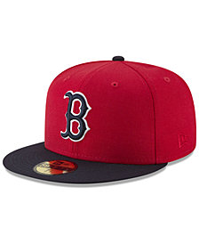 New Era Boston Red Sox Batting Practice Wool Flip 59FIFTY FITTED Cap