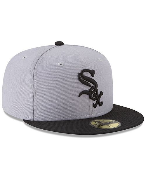 43b8a1d77dd ... New Era Chicago White Sox Batting Practice Wool Flip 59FIFTY FITTED Cap  ...