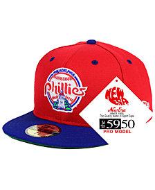 New Era Philadelphia Phillies Retro Stock 59FIFTY FITTED Cap