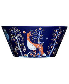 Iittala Dinnerware, Taika Blue Pasta Bowl