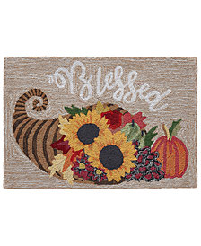 Liora Manne Front Porch Indoor/Outdoor Blessed Natural 2' x 3' Area Rug