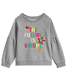 Epic Threads Toddler Girls Graphic-Print Sweatshirt, Created for Macy's