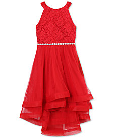 Speechless Big Girls Glitter Lace Dress