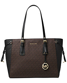 MICHAEL Michael Kors Signature Voyager Multi-Function Top Zip Tote