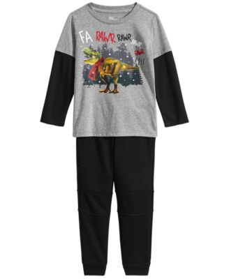 Moto Jogger Pants, Toddler Boys, Created for Macy's