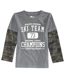 Epic Threads Toddler Boys Ski Champ Shirt, Created for Macy's