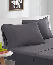 Intelligent Design Cotton Blend Jersey Knit 4-PC King Sheet Set