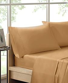 600 Thread Count 4-PC King Pima Cotton Sheet Set