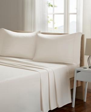Sleep Philosophy Smart Cool Microfiber 4-pc Queen Sheet Set Bedding