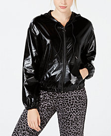 Material Girl Juniors' Bomber Windbreaker, Created for Macy's