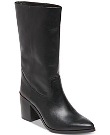 STEVEN by Steve Madden Frida Western Stovepipe Boots