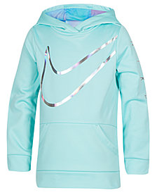 Nike Toddler Girls Therma-FIT Logo-Print Hoodie