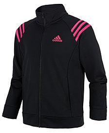 adidas Big Girls Front-Zip Jacket