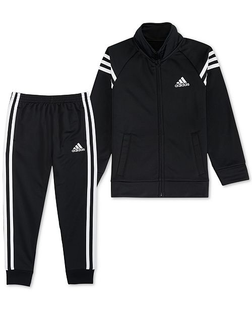 6c5c18580ae8 adidas Little Boys 2-Pc. Front-Zip Jacket   Jogger Pants Set - Sets ...