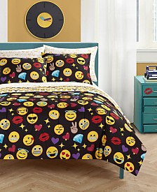 Emoji Bling Bed In A Bag, Full