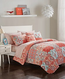 Urban Living Illiana Quilt Bedding Set - Queen