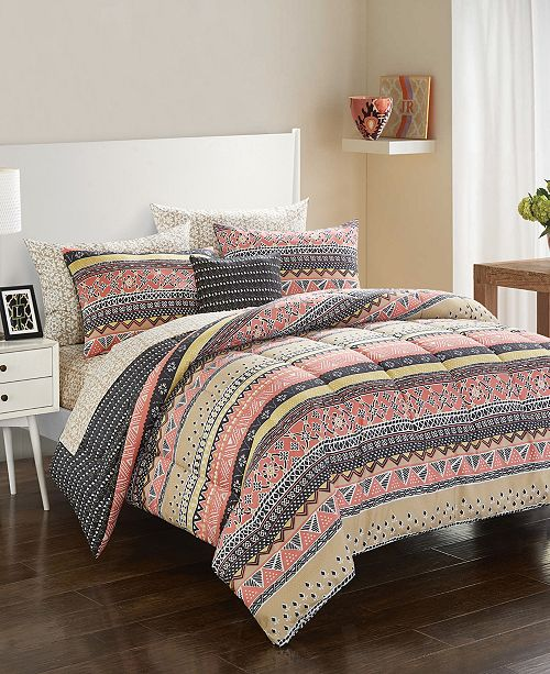 Idea Nuova Urban Living Daisy Bedding Set - Twin