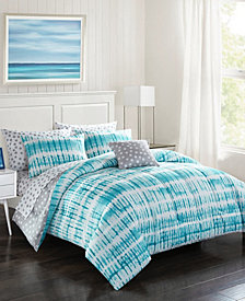 Urban Living Blue Bedding Set