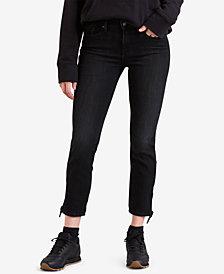 Levi's® Knotted-Hem Skinny Jeans