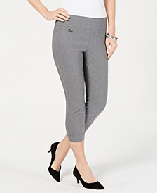 Tummy-Control Pull-On Capri Pants, In Regular and Petite, Created for Macy's