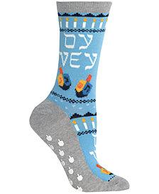 Hot Sox Women's Oy Vey Non-Skid Socks