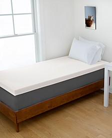 "Full 3"" DORM Memory Foam Mattress Topper"