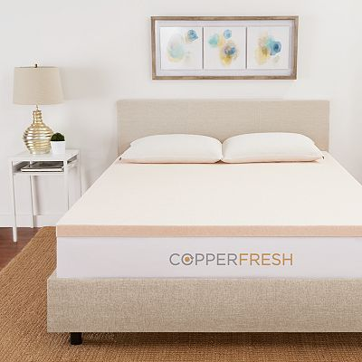Copperfresh Copperfresh 3 Gel Memory Foam Mattress Topper
