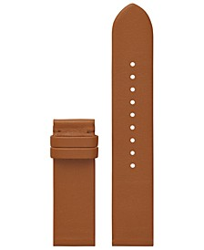 Women's ToryTrack Gigi Luggage Leather Smart Watch Strap