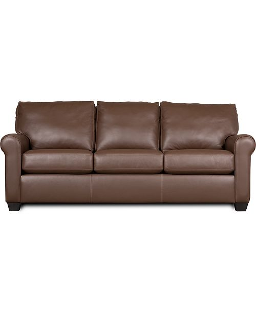 American Leather Savoy Ii 83 Quot Leather Sofa Furniture
