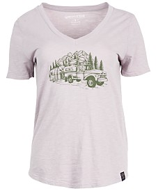 United by Blue Women's Truck & Camper Short-Sleeve Tee from Eastern Mountain Sports
