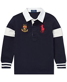 Polo Ralph Lauren Big Boys Big Pony Cotton Rugby Shirt