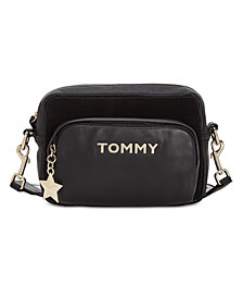 Tommy Hilfiger Corporate Highlight Leather & Suede Crossbody