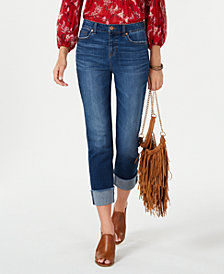 Style & Co High-Rise Boyfriend Jeans, Created for Macy's