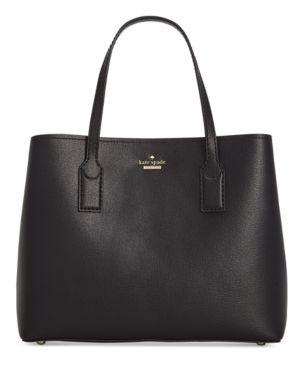 Hadley Road Small Dina Leather Shoulder/Crossbody Bag - Black, Black Multi/Gold
