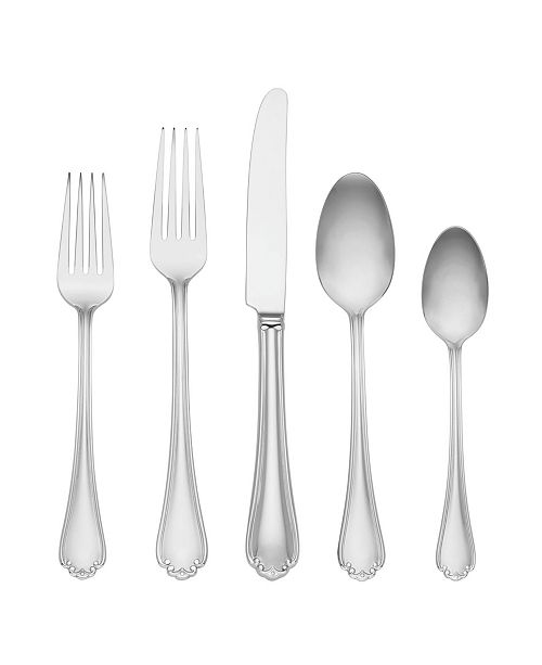 Lenox Chelse Muse 65 Pc 1810 Stainless Steel Flatware Set Service