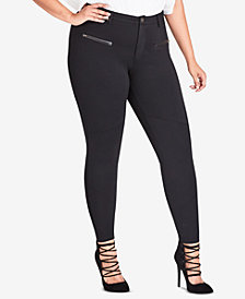 City Chic Trendy Plus Size Skinny Stretch Pants