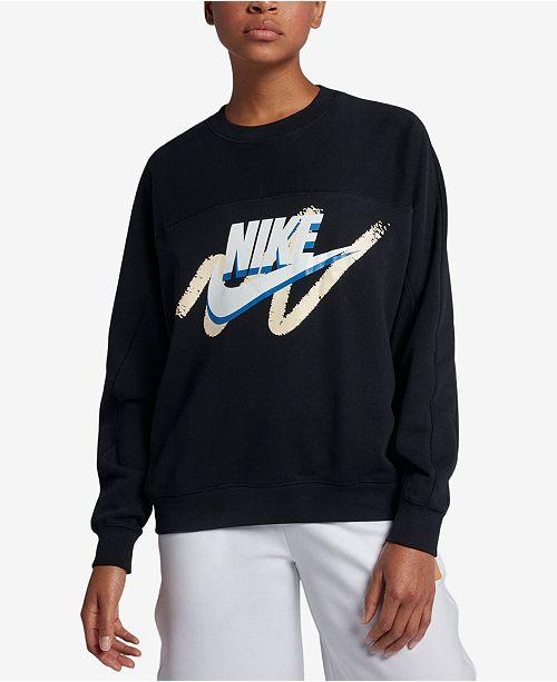 216a5957f4897 Nike Sportswear Archive Logo Sweatshirt; Nike Sportswear Archive Logo  Sweatshirt ...